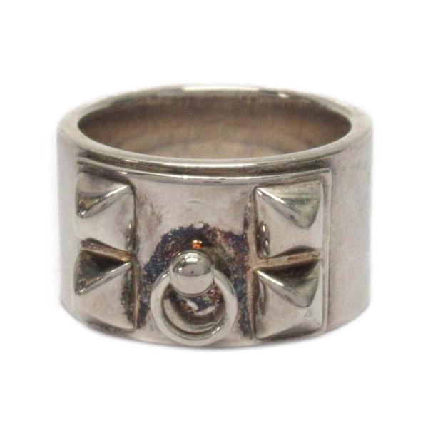 HERMES 愛馬仕 925純銀項圈造型戒指 CDC Ring 11號 【BRAND OFF】