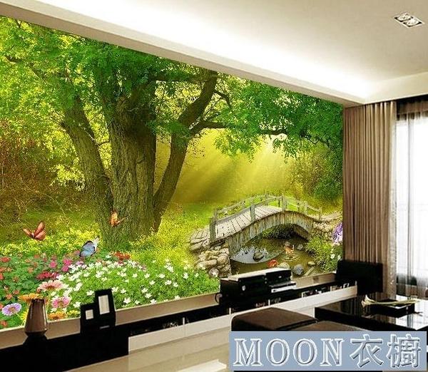室內裝飾品 大自然風景畫自黏牆貼臥室背景牆貼紙壁紙牆紙壁畫牆畫貼紙貼畫 快速出貨
