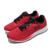 Under Armour 慢跑鞋 UA Charged Pursuit 2 紅黑 白 男鞋 運動鞋 【PUMP306】 3022594601