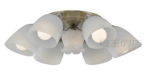 燈飾燈具【燈王的店】設計師新款 半吸頂燈 6+1 燈 A3514/6+1 (DM商品)
