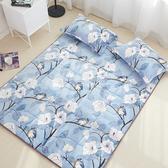 BV雲貂法蘭絨加大床墊(床墊/地墊/和室/客廳)  喜鵲