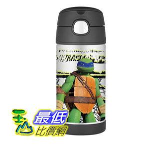 [103美國直購] Thermos 兒童保溫水壺 Funtainer Bottle, Teenage Mutant Ninja Turtles F4014NT6M $871