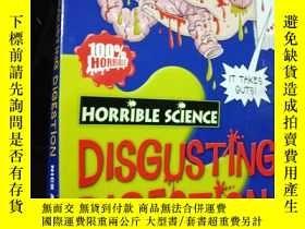 二手書博民逛書店Horrible罕見science--disgusting di