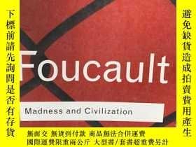 二手書博民逛書店Madness罕見and Civilization: A His