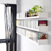 客廳置物架 U型隔板免打孔墻上置物架客廳裝飾架子臥室壁掛書架墻壁擱板木板40*20*15