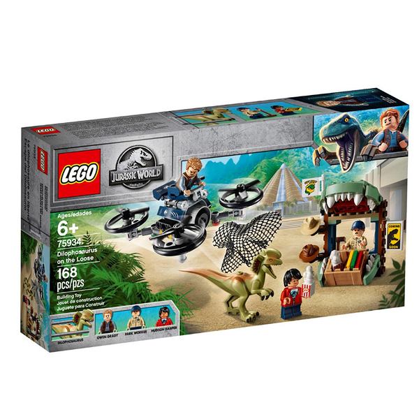 75934【LEGO 樂高積木】侏儸紀世界 Jurassic World 系列 - Dilophosaurus on the Loose (168pcs)