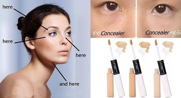 【愛來客 】美國彩妝ELF Under Eye Concealer & Highlighter雙頭眼部遮瑕乳+提亮乳3色可選