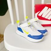 《7+1童鞋》小童 NIKE Wearallday 輕量透氣網布 運動鞋 慢跑鞋 H856 藍色