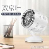 小風扇便攜式小型手持usb充電迷你超靜音辦公室桌上學生宿舍桌面床上用車載 印象家品