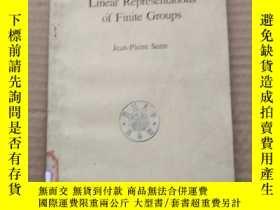 二手書博民逛書店linear罕見representations of finite groups(P343)Y173412