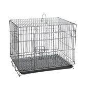 兔籠子特大號養殖籠加密兔子籠子小號送腳墊寵物荷蘭豬籠子可摺疊igo 晴天時尚館
