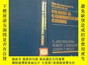 二手書博民逛書店FRAUD罕見&COMMERCIAL CRIME 館藏Y210251