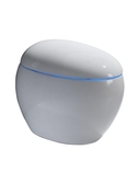 免治馬桶 德國創意雞蛋坐便器遙控全自動沖水烘干座便電動一體式智慧馬桶