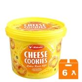 KoKoLa餅乾桶-起司400g(6入)/箱