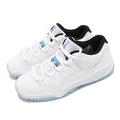 Nike Jordan 11 Retro Low PS 白 藍 傳奇藍 中童鞋 小朋友 AJ11 【ACS】 505835-117