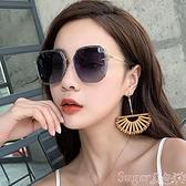 墨鏡年新款ins墨鏡女偏光太陽眼鏡GM韓版潮圓臉大臉顯瘦 suger