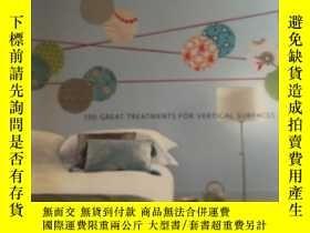 二手書博民逛書店wall罕見to wall 100 great treatments for vertical surfaces奇