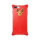 Bone iPhone 8 / 7 Plus (5.5) 泡泡保護套 紅-麋鹿 手機殼