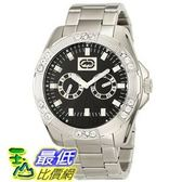 [104美國直購] Marc Ecko Men s E13561G2 The Henly Silver Black Classic Analog Watch