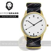Hypergrand新加坡設計前衛時尚品牌腕錶- 紅白光束NW01RAPI公司貨