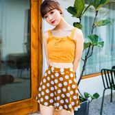 游泳 韓國游泳衣女二件套小香風裙式分體保守遮肚顯瘦小清新溫泉款泳裝