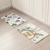 可愛卡通防滑地墊臥室客廳門口地毯廚房浴室進門墊子腳墊吸水門墊