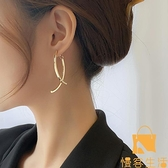 耳環潮韓國氣質大氣耳夾網美冷淡風耳飾無耳洞女【慢客生活】