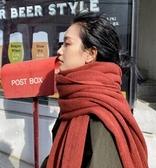 季新款韓版針織毛線圍巾情侶男女加厚ins學生百搭圍脖 潮
