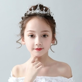 兒童髮飾 小孩皇冠頭飾兒童公主韓國女童發箍可愛女孩水鉆生日王冠演出發飾