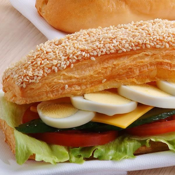 蔬菜丹麥燒餅早餐套餐(附60元飲品)