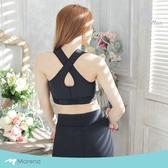 【Marena 瑪芮娜】日常塑身運動系列 美背前拉鍊式專業運動內衣