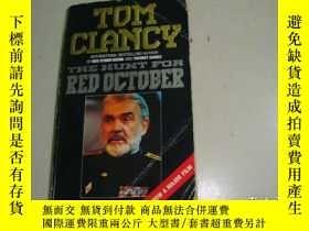 二手書博民逛書店TDM罕見CLANCY THE HUNT FOR RED DCT