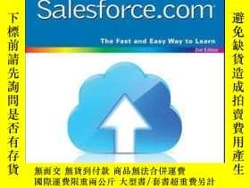 二手書博民逛書店Teach罕見Yourself VISUALLY Salesforce.com, 2nd EditionY41