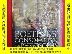 二手書博民逛書店Boethius 罕見Consolation of Philos