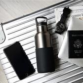 【美國 HYDY】時尚 保溫水瓶-油墨黑-鈦灰瓶 480ML 現貨快速出貨