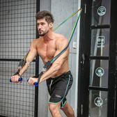 拉力繩健身男練力量訓練彈力帶練腹肌胸肌健