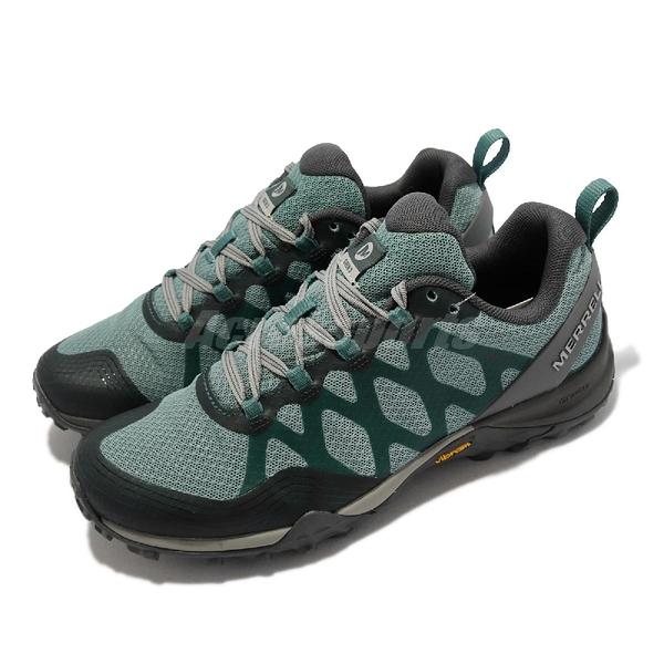 Merrell 登山鞋 Siren 3 Mid GTX 防水 藍 綠 灰 戶外 黃金大底 女鞋【ACS】 ML036714