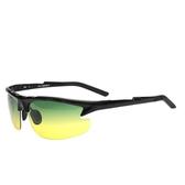 太陽眼鏡-偏光日夜視鏡運動騎行時尚防護男-墨鏡-2色73nm34[巴黎精品]