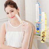 【Disney】可愛圖案造型扁梳/梳子/隨身梳-條紋風