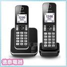 Panasonic國際牌【KX-TGD312】DECT無線答錄電話【德泰電器】