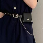 皮帶女朋克jk配飾百搭鏈條腰帶女小腰包女潮ins裝飾連身裙子包包 伊蘿 618狂歡