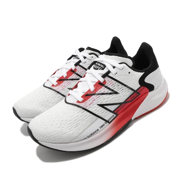 New Balance 慢跑鞋 Fuelcell Propel V2 Wide 白 紅 寬楦頭 女鞋 運動鞋 【ACS】 WFCPRWR2D