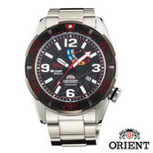ORIENT M-FORCE STI限量200m機械潛水錶x45mm黑紅・公司貨・SEL0A004B・藍寶石水晶鏡面