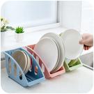 廚房碟盤收納架 瀝水 清洗 茶盤 托盤 簍空 置物 碗盤 瀝乾 餐具 台面 瀝水籃【Q209】MY COLOR
