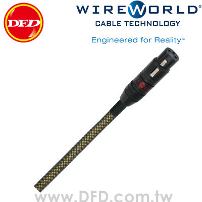 WIREWORLD GOLD ECLIPSE 7 金蝕 0.5M Balanced Interconnect 類比平衡線 原廠公司貨