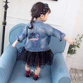 2女童牛仔外套4女寶寶上衣秋裝1-3歲韓版潮2019新品夏季裝款0公主5