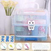 奶瓶收納箱晾干架大號抗菌便攜式嬰兒餐具寶寶用品收納盒帶蓋防塵【跨店滿減】