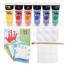 芬蘭 Top Bright 小小藝術家安全可水洗手指畫顏料(6色)