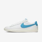 Nike Blazer Low Leather [CI6377-104] 男鞋 運動 休閒 緩震 抓地力 穿搭 白藍