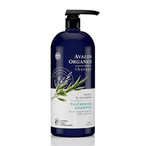 Avalon Organics 湛藍B健髮洗髮露946毫升